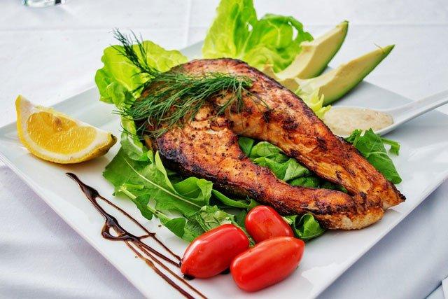 recetas freidora sin aceite - salmon