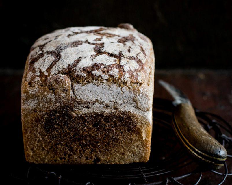 hacer pan en panificadora
