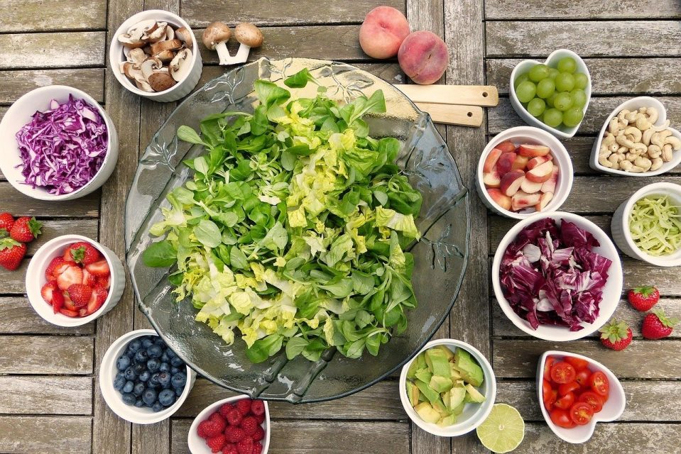 comida real - alimentos frescos sin procesar