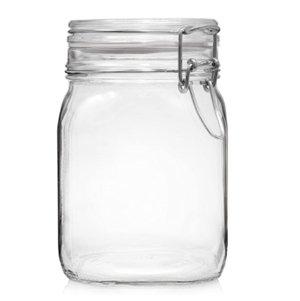 bote cristal cierre hermético - amazon