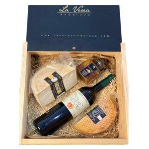 caja maridaje quesos vino y miel la verea andaluza amazon