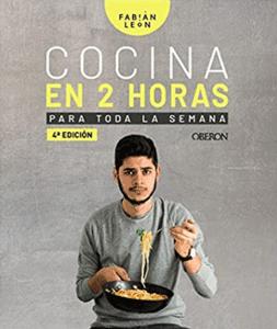 batch cooking libro - fabián león - menu semanal saludable