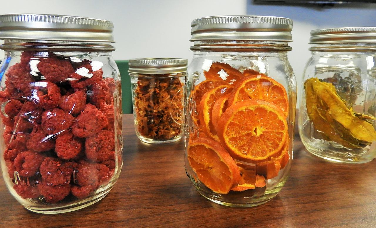 como deshidratar frutas - snacks sanos