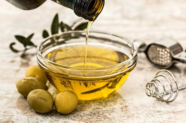 aceite de oliva huevo vegano