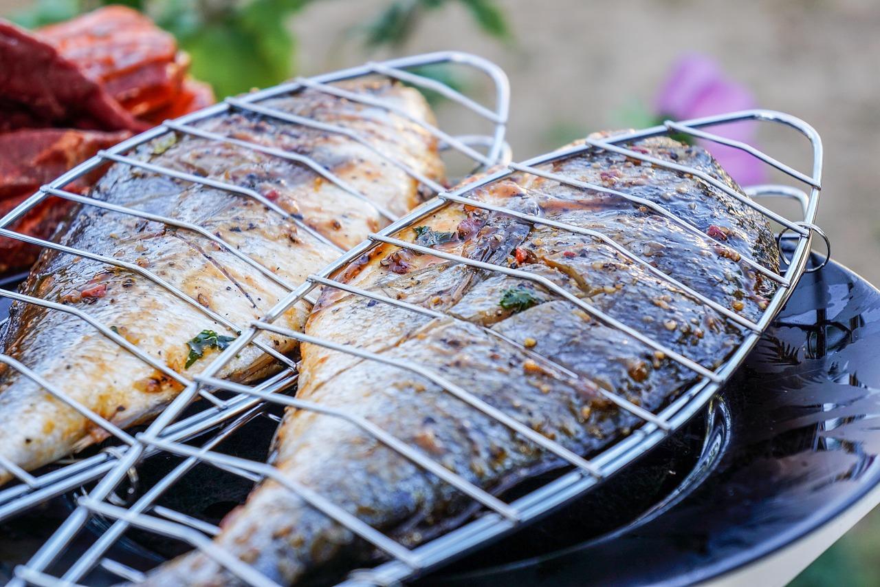 receta pescado a la brasa